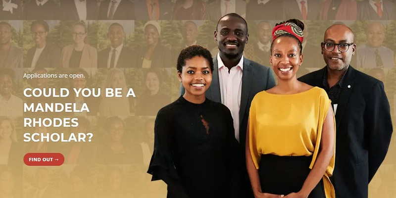Mandela Rhodes Scholarship 2022 for Young Africans (Fully-funded)