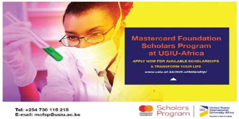 Mastercard Foundation Scholars Program at USIU-Africa – Fall 2021 Intake (Fully-funded)