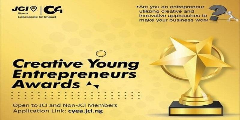 Junior Chamber International (JCI) Nigeria Creative Young Entrepreneurs Award 2021