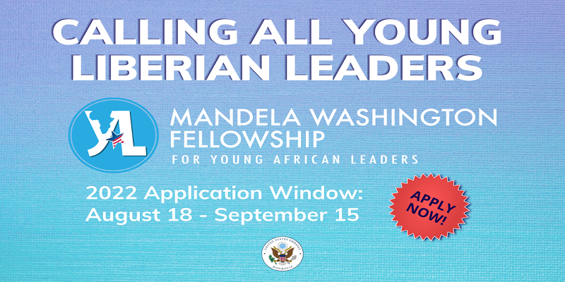 Mandela Washington Fellowship 2022 for Young African Leaders (Fully-funded to the United States)
