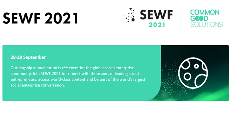 Call for Applications: Social Enterprise World Forum (SEWF) Bursary 2021