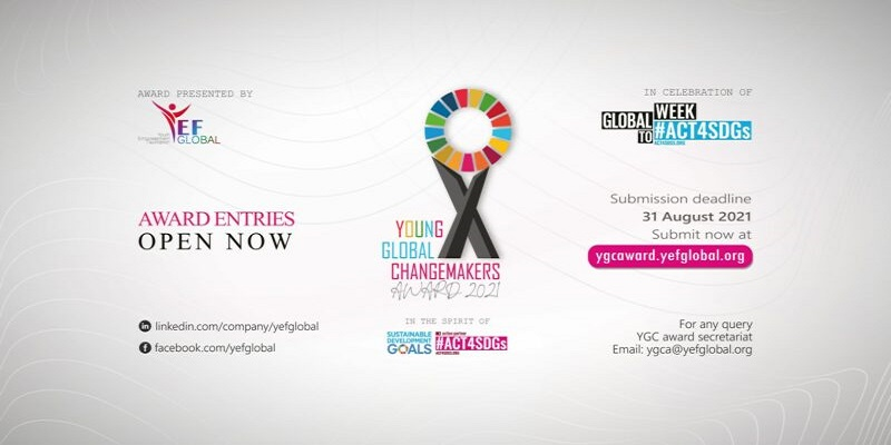 Young Global Changemakers Award 2021