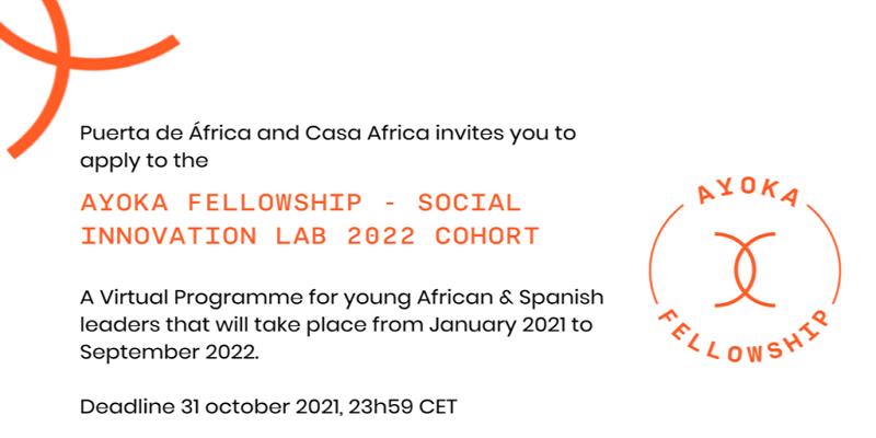 Ayoka Fellowship – Social Innovation Lab 2021-2022