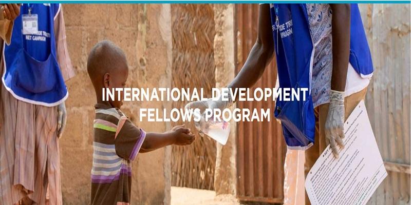 Catholic Relief Services' International Development Fellows Program 2021/2022
